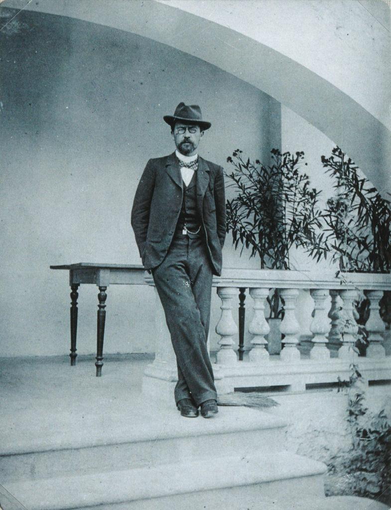 1899-1900. Антон Павлович Чехов в Ялте