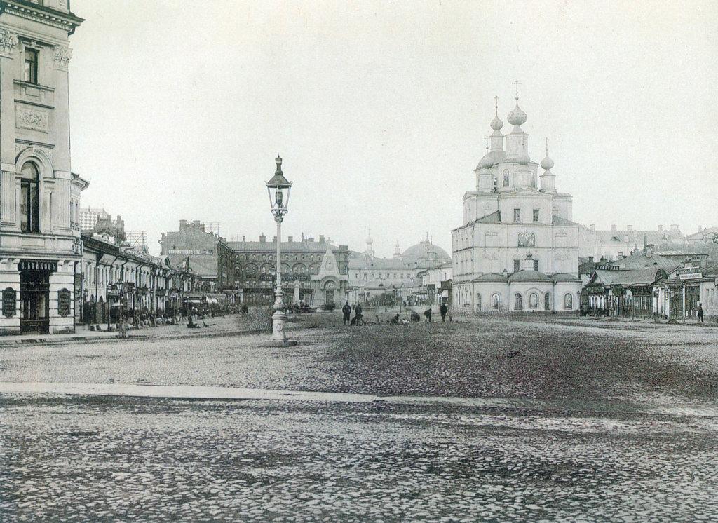 Охотный ряд. 1888