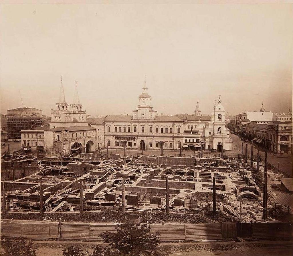 Строительство музея имени Государя Наследника Цесаревича. 1875