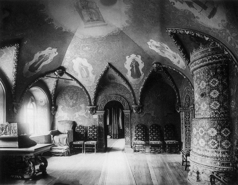 Вид кабинета в Теремном дворце Кремля