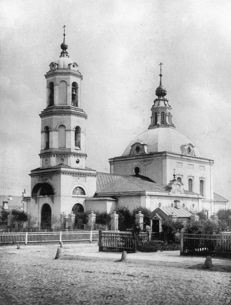 Церковь Николая Чудотворца в Кобыльском.