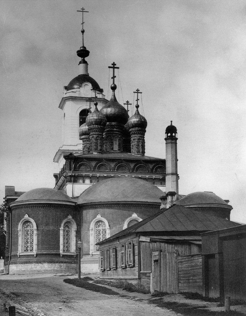 Церковь Казанской Божией Матери в Сущеве
