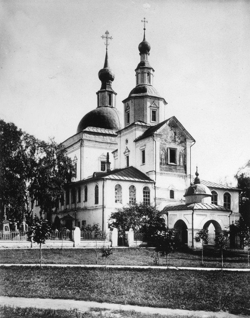 Храм Святых Отцов Семи Вселенских Соборов. 1882