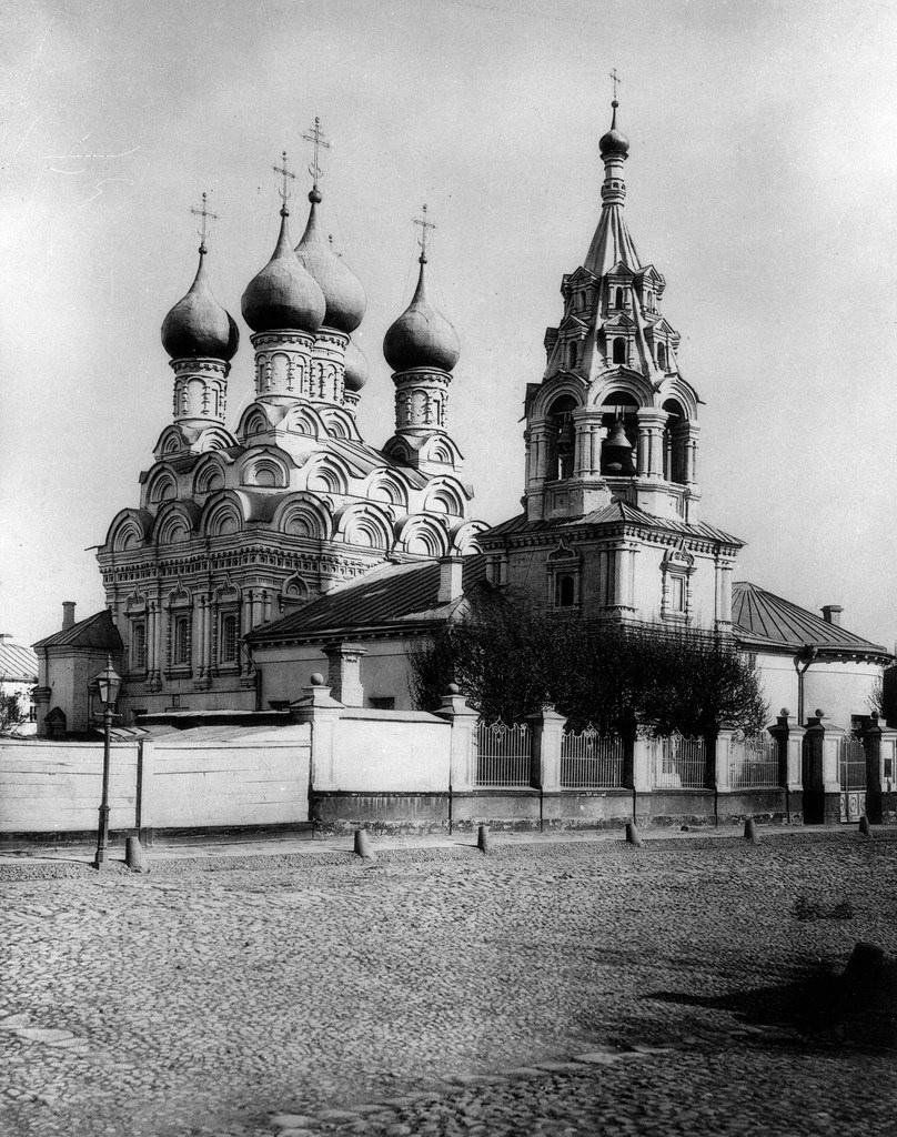 Церковь Николая Чудотворца в Пыжах