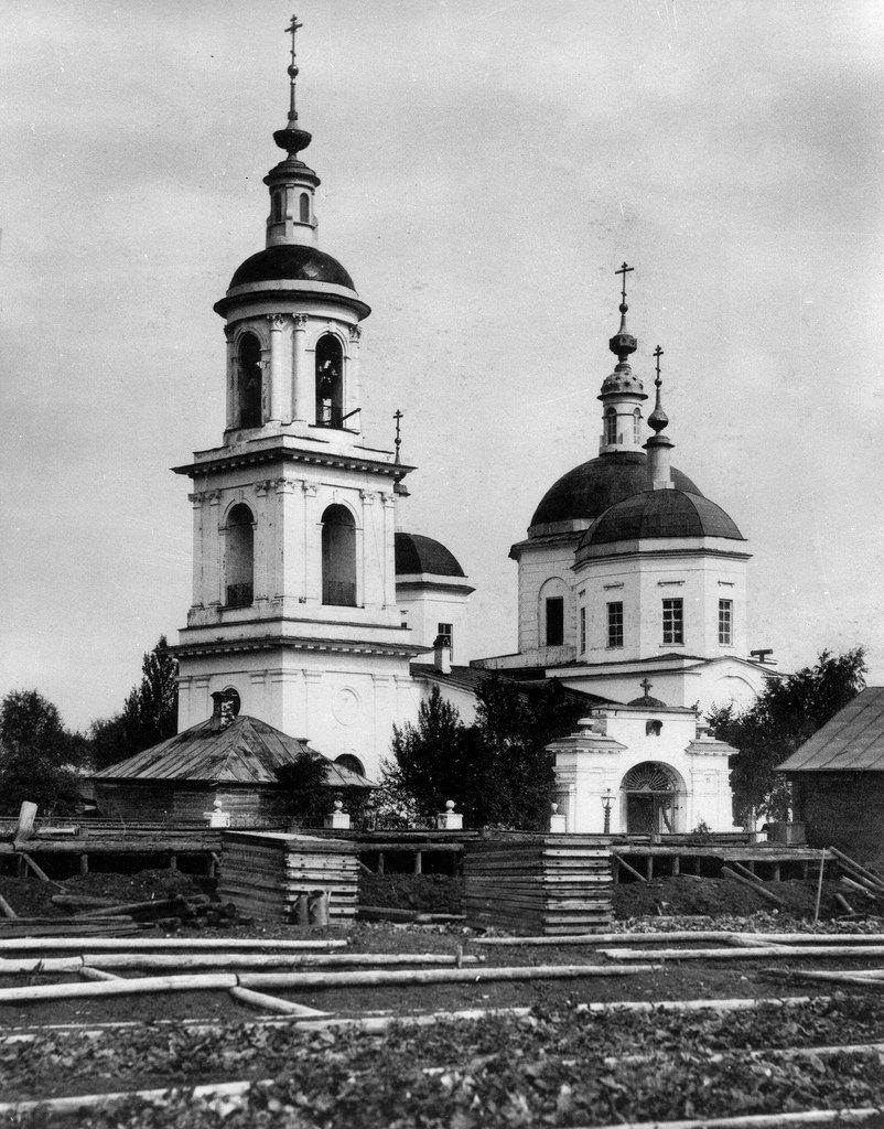 Церковь Тихвинской Божией Матери в Сущове