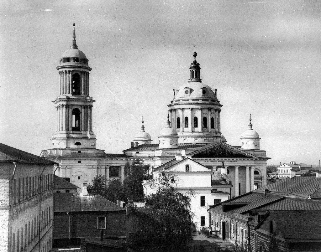 Церковь Мартина Исповедника (Вознесения Господня) в Алексеевской новой слободе