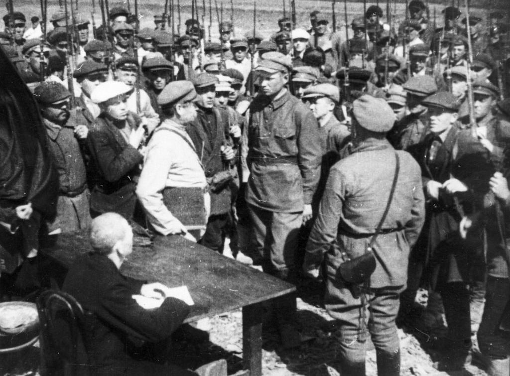 1918. Запись в Красную Армию