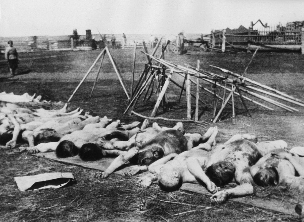 1918. Чекисты, убитые во время крестьянского восстания в Симбирской губернии