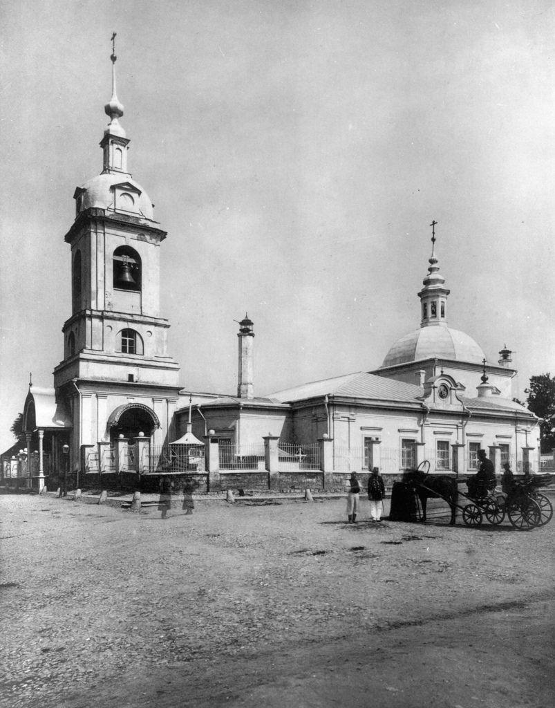 Храм Сорока Мучеников Севастийских в Спасской слободе