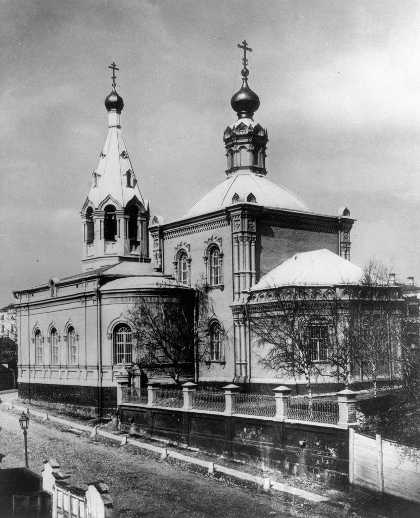 Церковь Грузинской Божией Матери на Воронцовском Поле