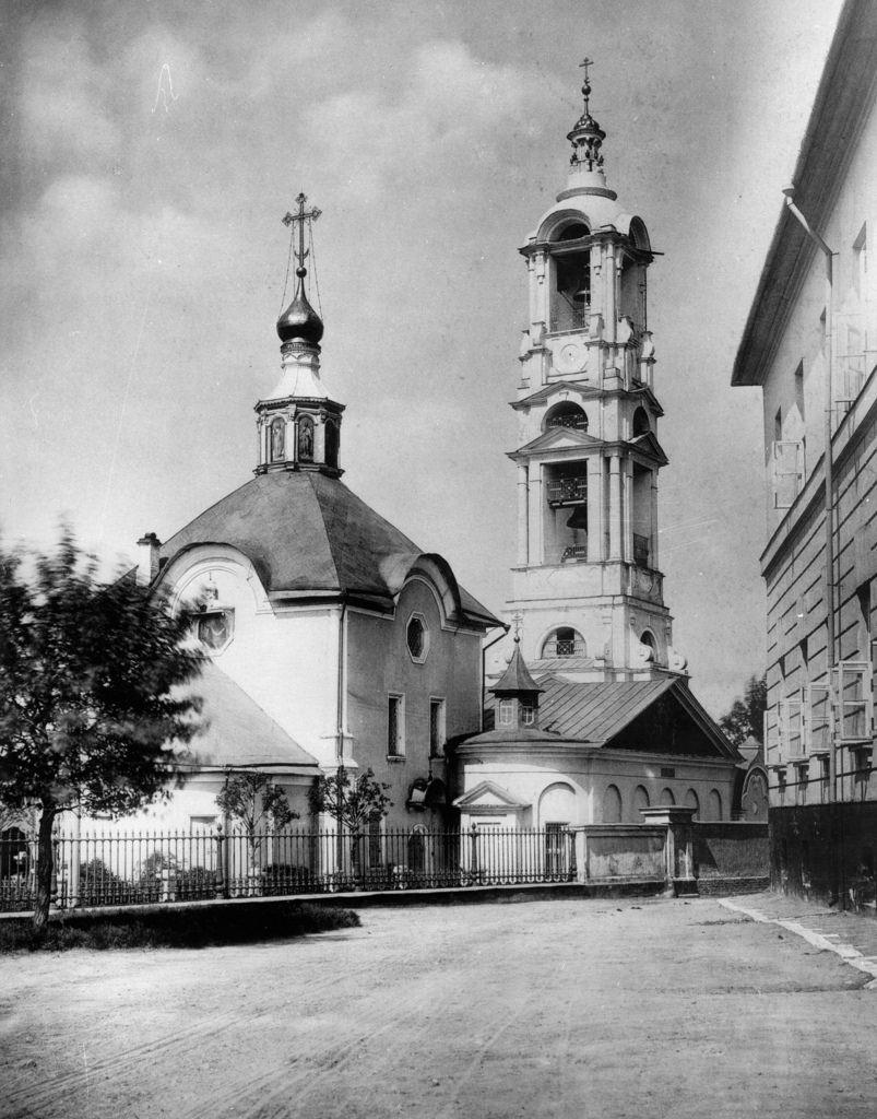 Церковь Покрова Пресвятой Богородицы в Кудрине.