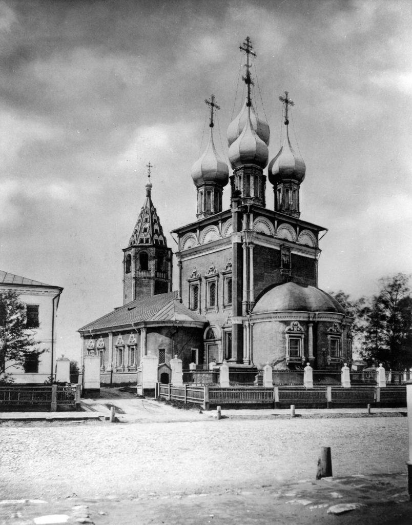 Церковь Положения Ризы Господней на Донской улице