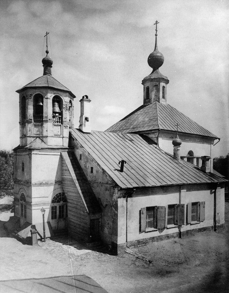 Церковь Тихвинской Богоматери, что на Бережках, в Дорогомилове