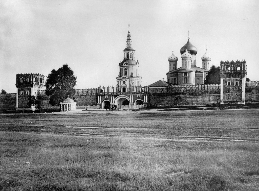 Донской монастырь. 1882