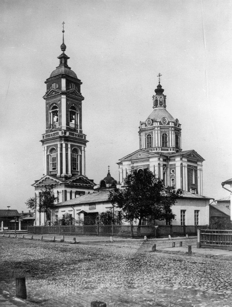 Храм Вознесения Господня за Серпуховскими воротами. 1882