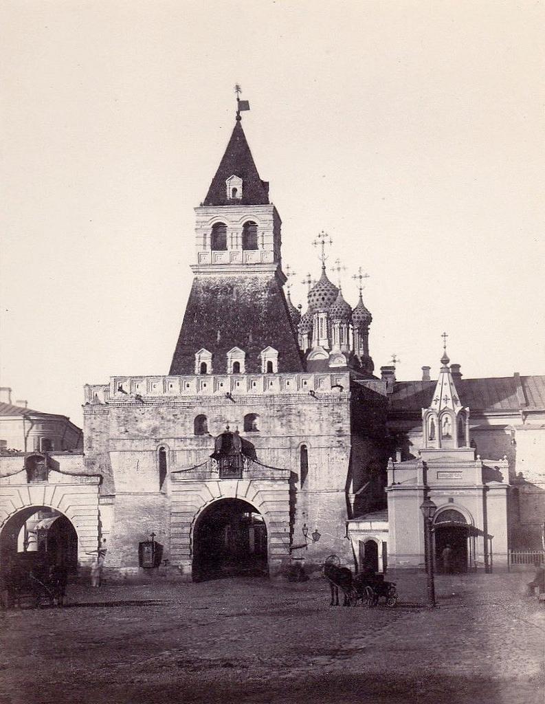 Ильинские ворота. 1860-е