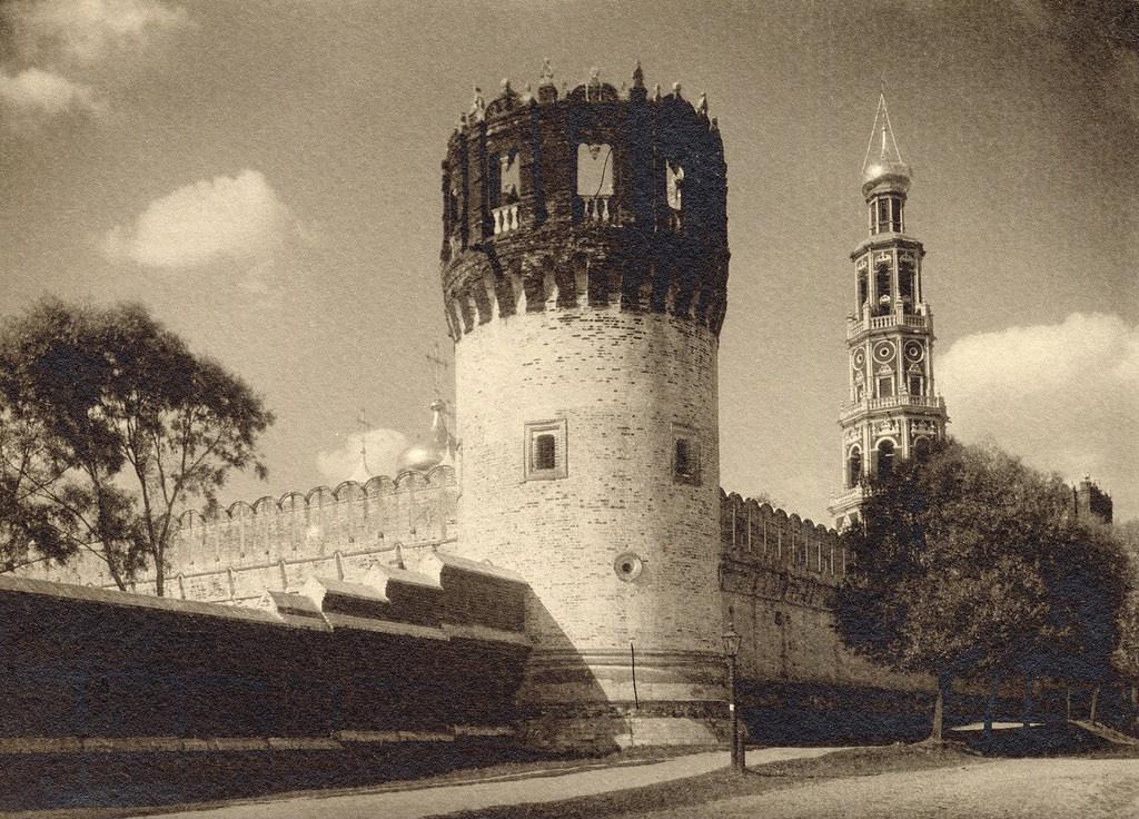 Новодевичий монастырь. 1908