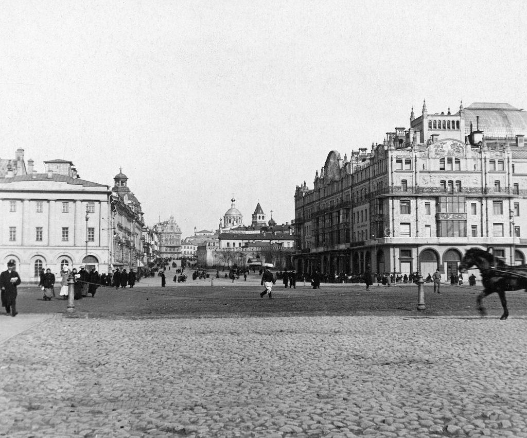 Театральная площадь. 1901