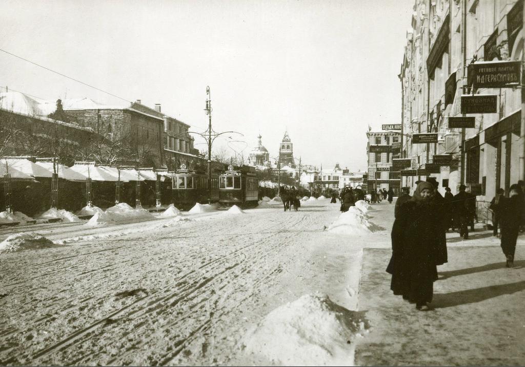 У Ильинских ворот. 1912