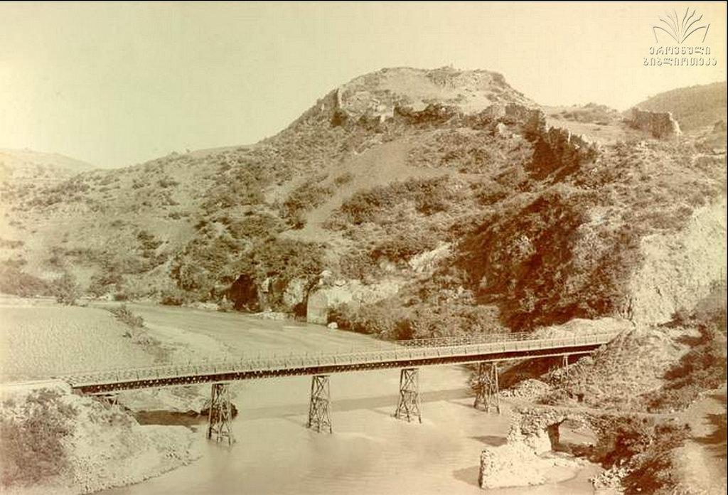 Мост через р. Квирила у Шорапанской крепости