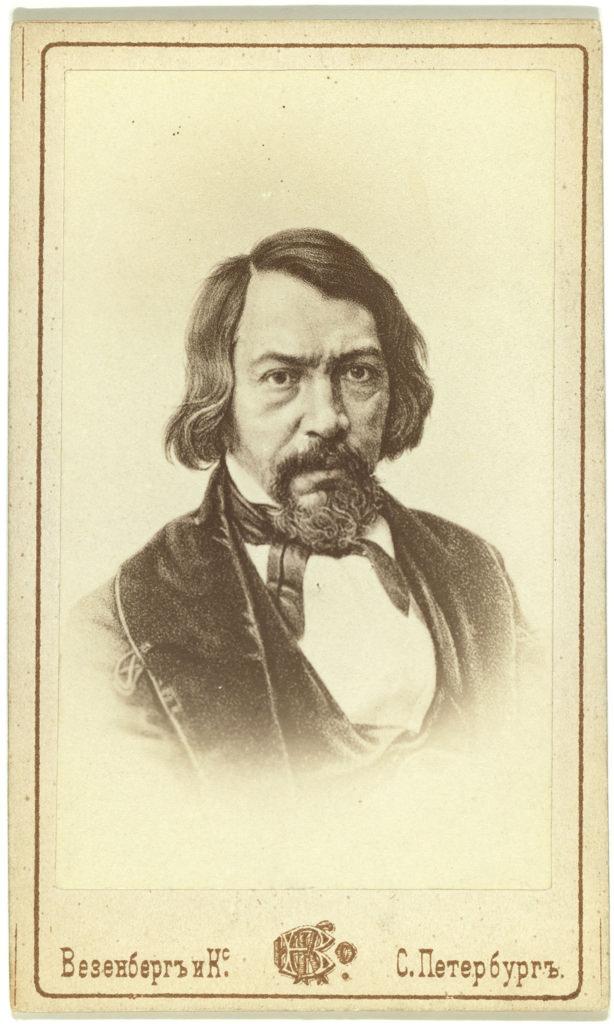 1850-е. Алексей Степанович Хомяков (1804-1860), поэт, художник, публицист, богослов, философ,