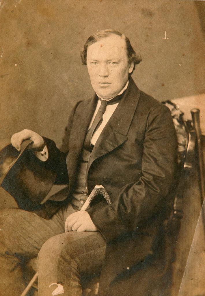 1850-е. Александр Николаевич Островский (31 марта 1823 — 2 июня 1886), драматург