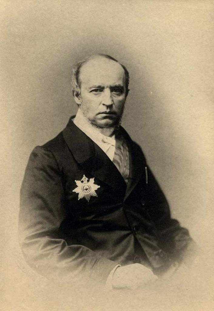1850-е. Владимир Федорович Одоевский (1803-1869), писатель и мыслитель эпохи романтизма, один из основоположников русского музыкознания.