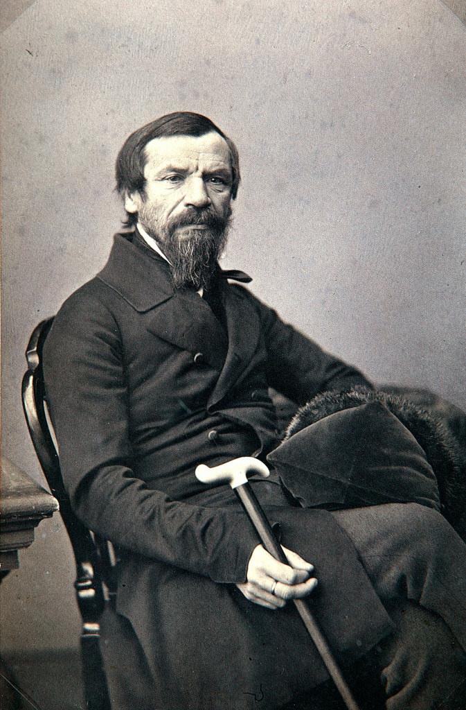 1850-е. Михаил Петрович Погодин ( 11 ноября 1800 — 8 декабря 1875) , историк, коллекционер, журналист и публицист, писатель-беллетрист, издатель