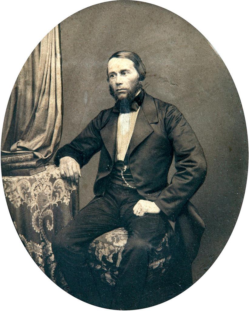 1860-е. Яков Карлович Грот ( 15 декабря 1812 — 24 мая 1893), филолог и лингвист, вице-президент Российской Императорской академии наук