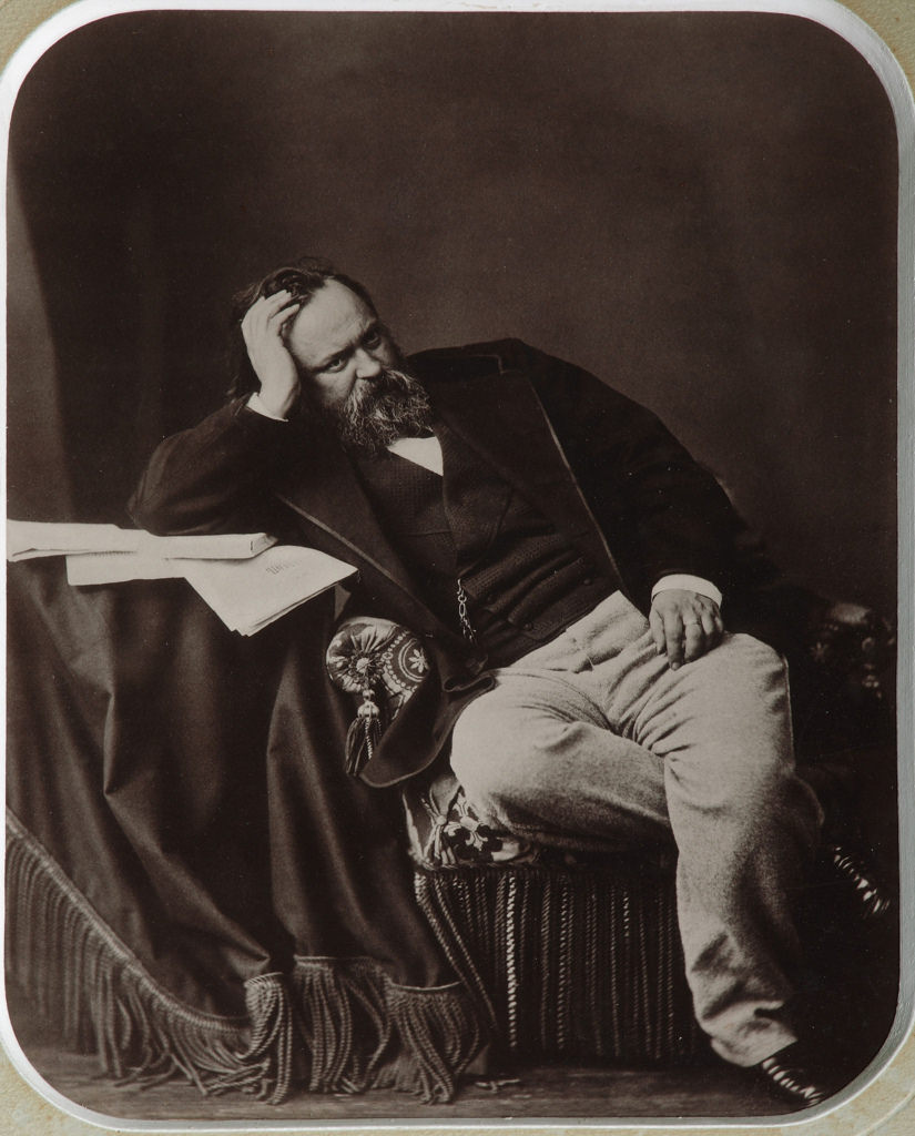 1861. Александр Иванович Герцен (1812-1870), публицист-революционер, писатель, педагог и философ