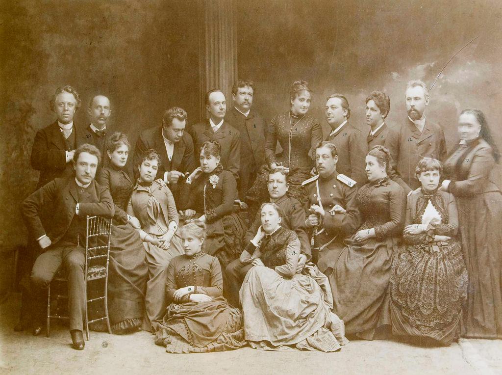 1866. Первая драматическая театральная группа в Варшаве