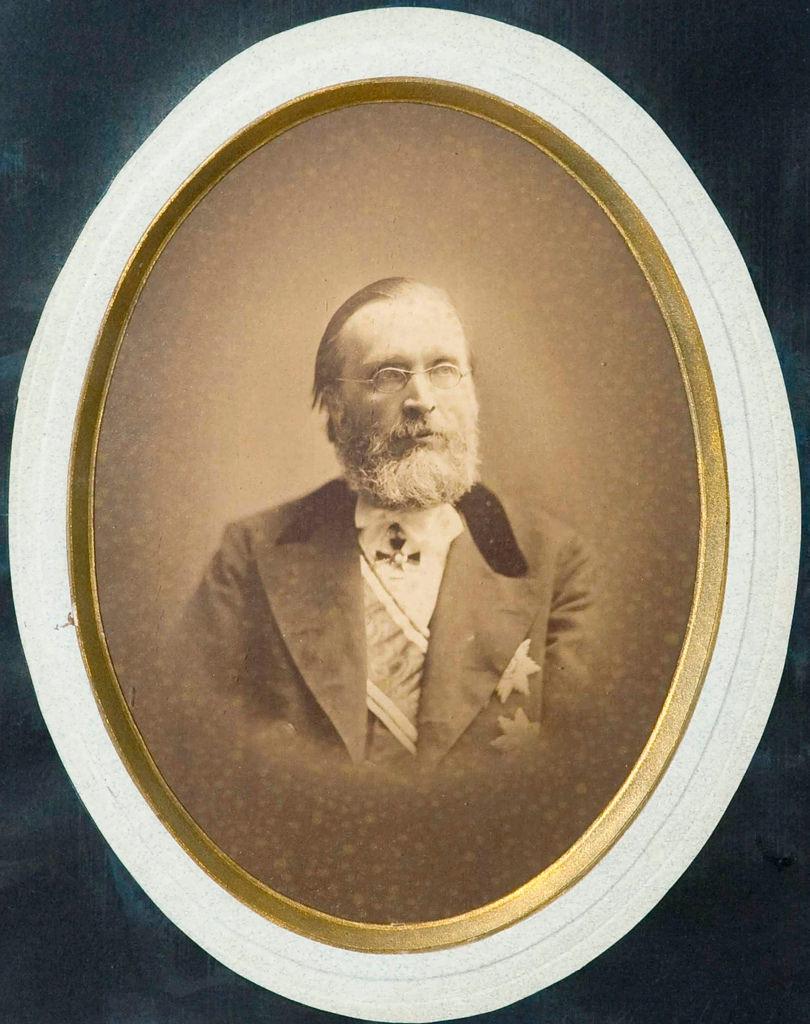 1870-е. Владимир Иванович Родиславский (1828-1885), основатель Общества Русских драматических писателей, писатель
