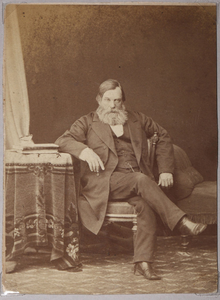 1870-е. Павел Иванович Мельников-Печерский (1818-1883), писатель-реалист, публицист, этнограф-беллетрист