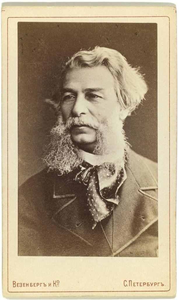 1880-е. Дмитрий Васильевич Григорович  (19 марта 1822 — 22 декабря 1899), писатель.