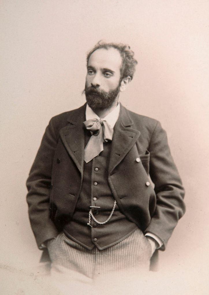 1880-е. Исаак Ильич Левитан (3 октября 1860 — 22 июля 1900), художник, мастер «пейзажа настроения». Академик ИАХ