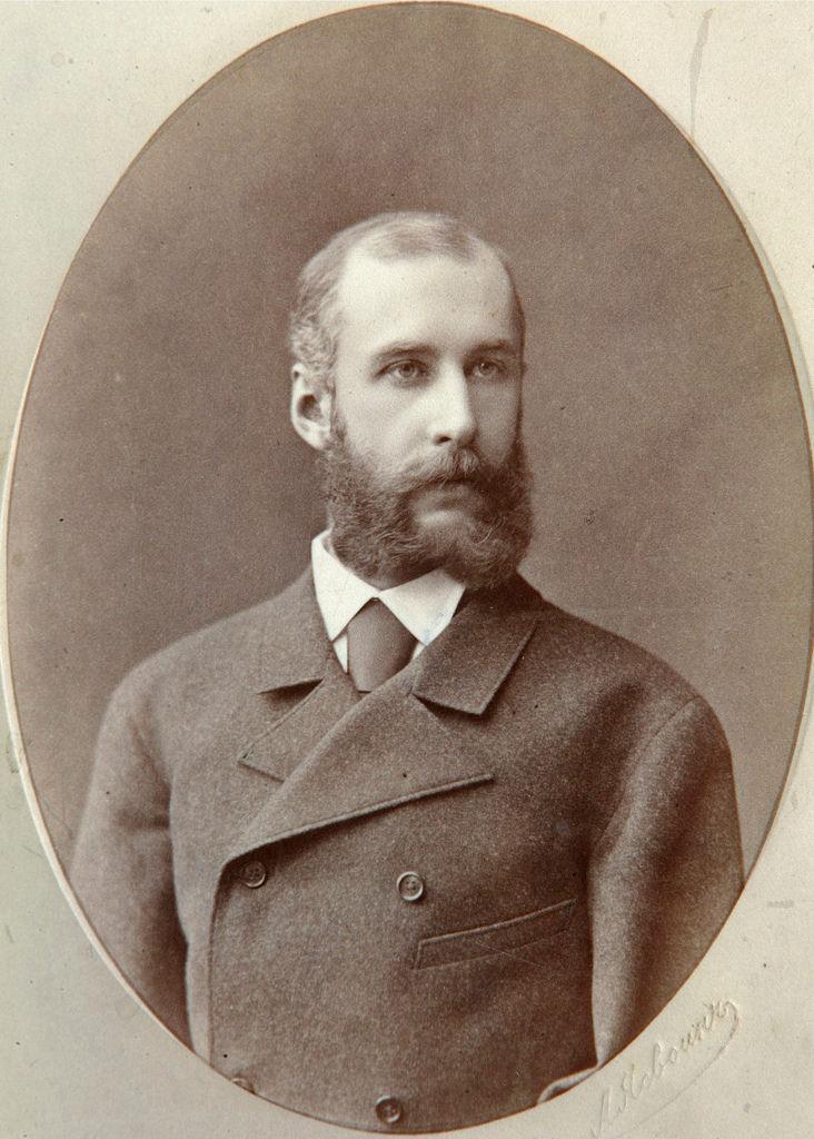 1880-е. Павел Яковлевич Дашков (28 января 1849 — 6 февраля 1910), историк, коллекционер и журналист