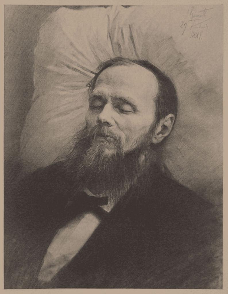 1881. Федор Достоевский на смертном одре