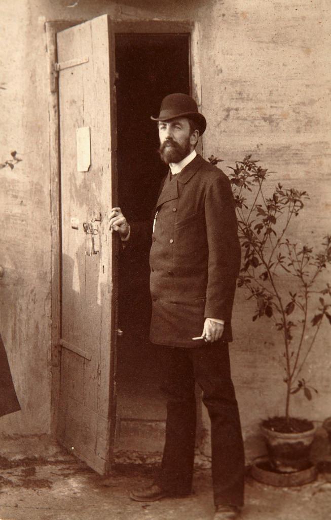 1884. Василий Дмитриевич Поленов (20 мая 1844, Санкт-Петербург — 18 июля 1927) — художник, мастер исторической, пейзажной и жанровой живописи, педагог.
