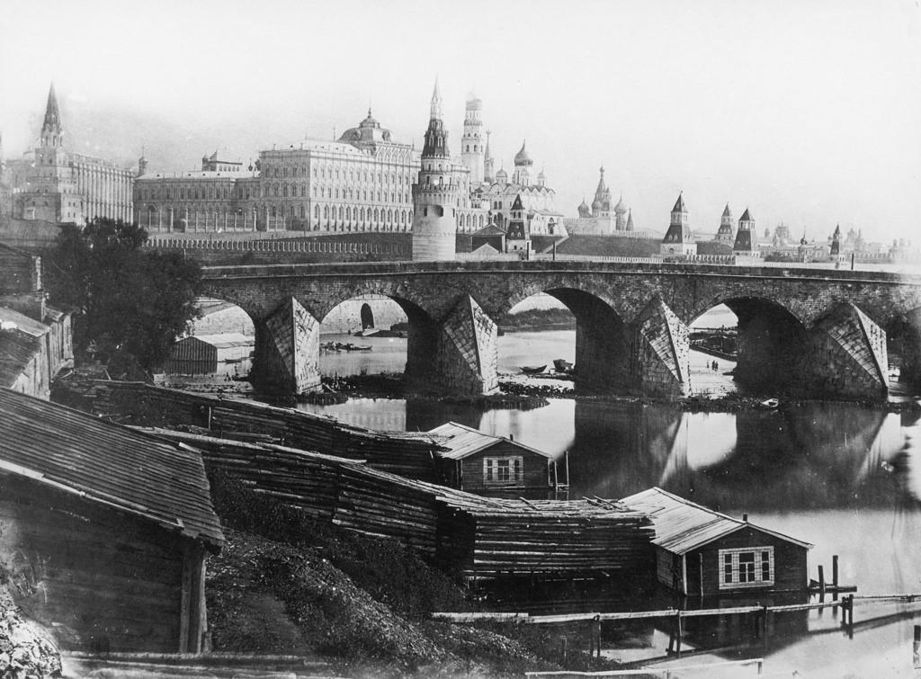 Большой Каменный мост, 1857