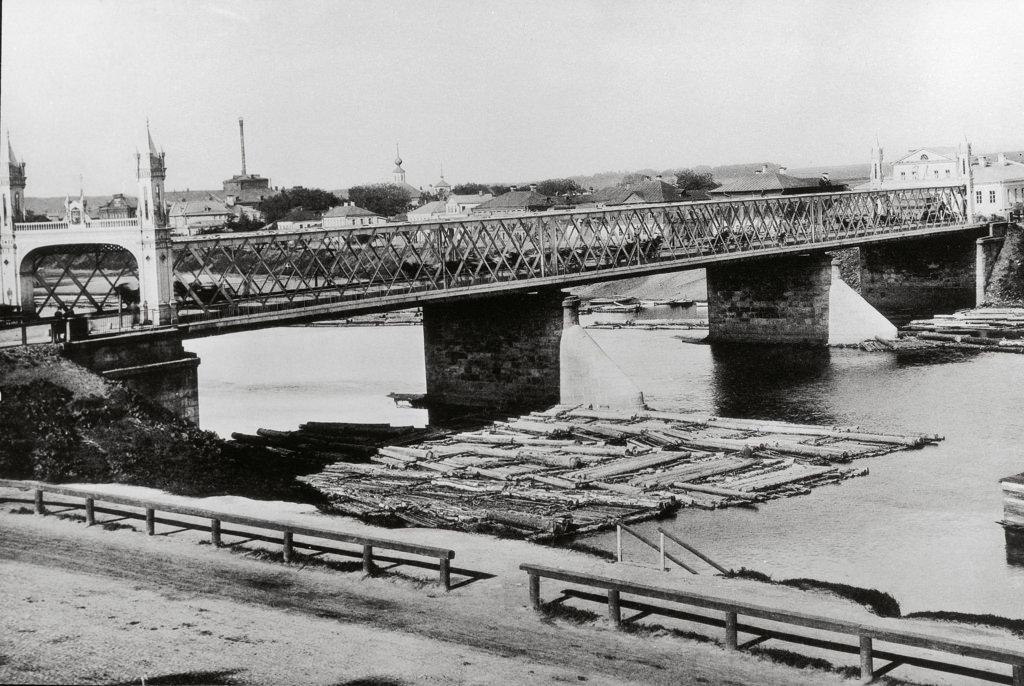 Бородинский мост. 1891