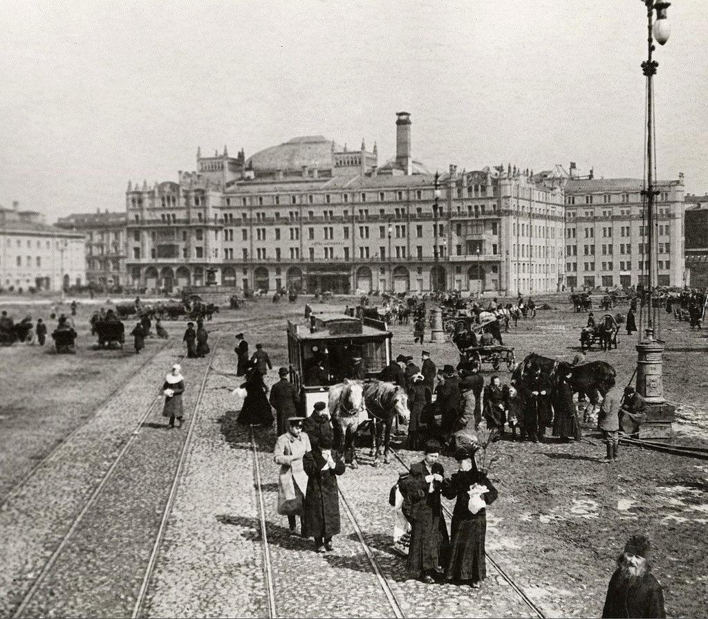 Воскресенская площадь. 1901