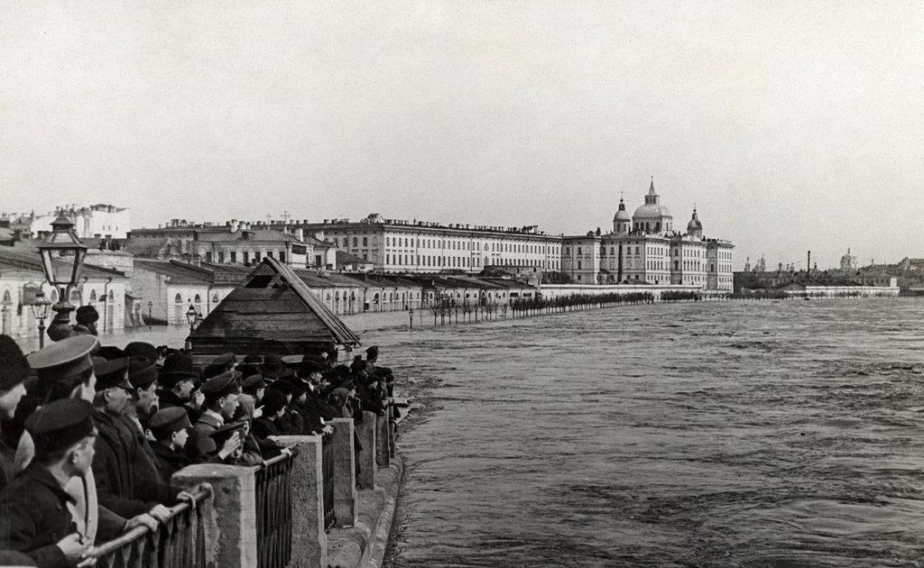Москворецкая набережная. Наводнение. 1908