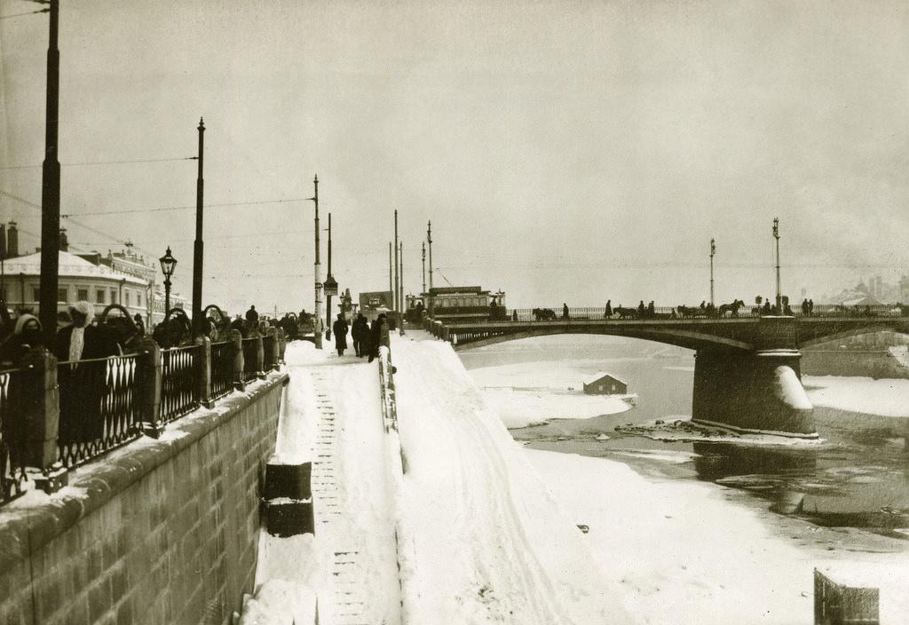 Москворецкий мост. 1912