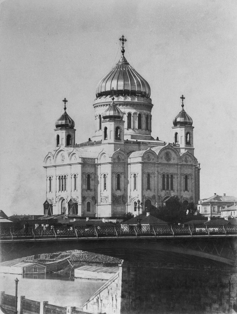 Храм Христа Спасителя. 1870