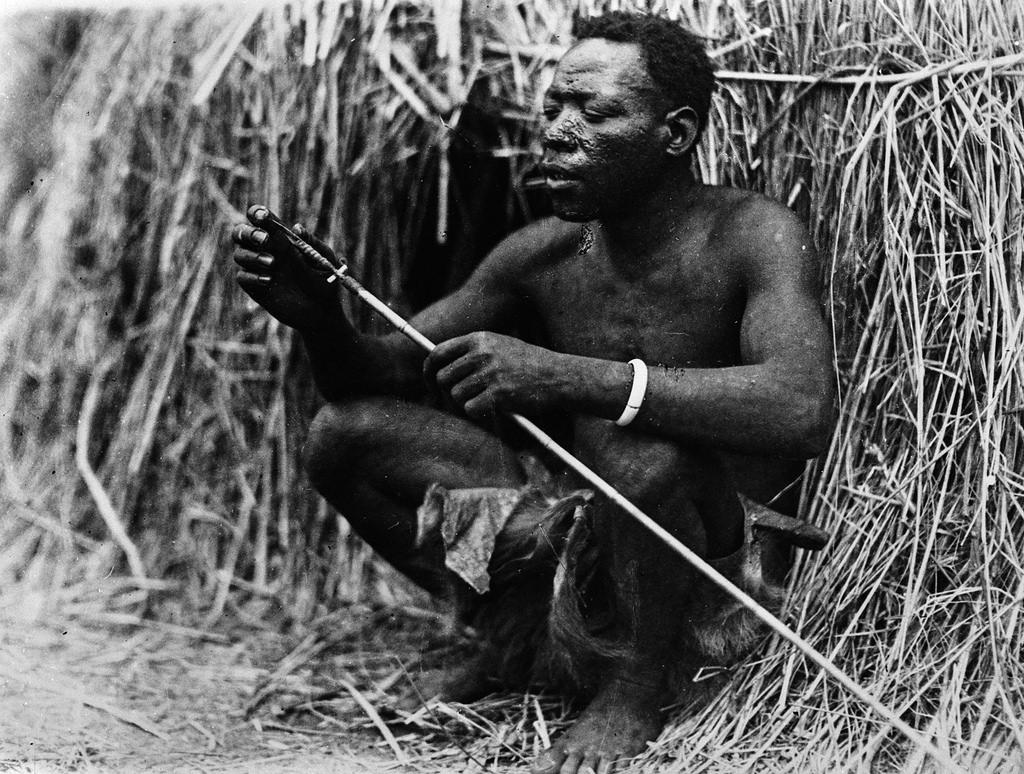 Бангвеулу. Портрет мужчины с копьем