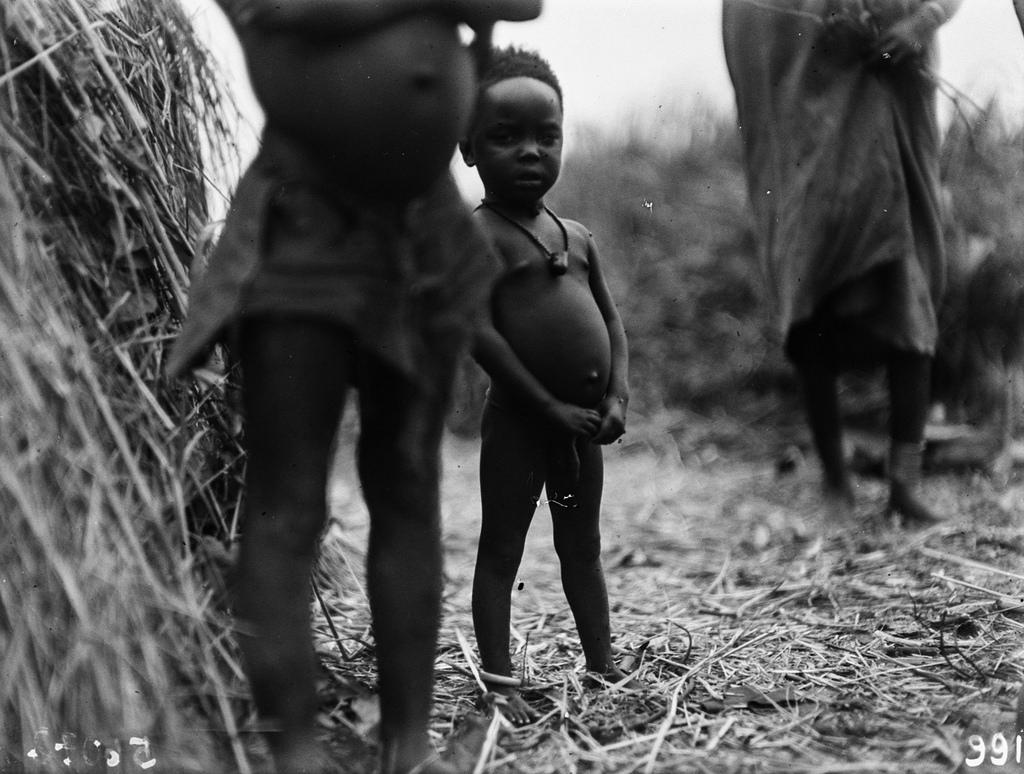 В деревне народности тва. Дети