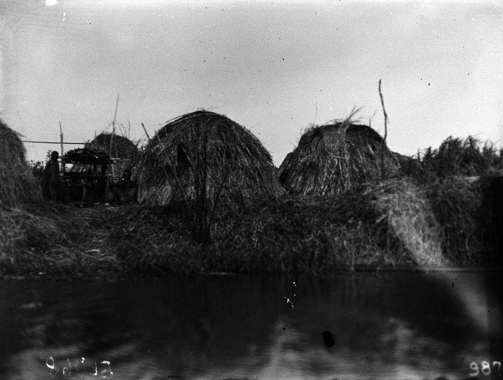 Вид деревни народности тва