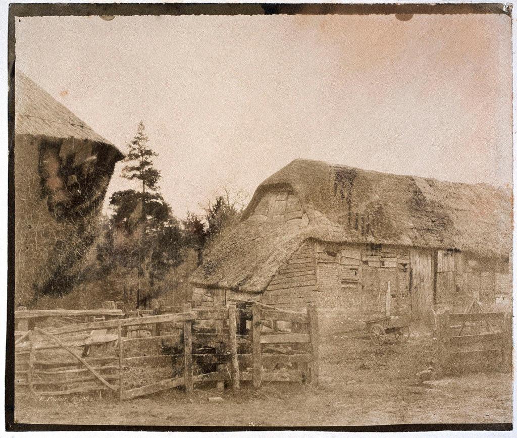 Крестьянский дом в Киевской губернии