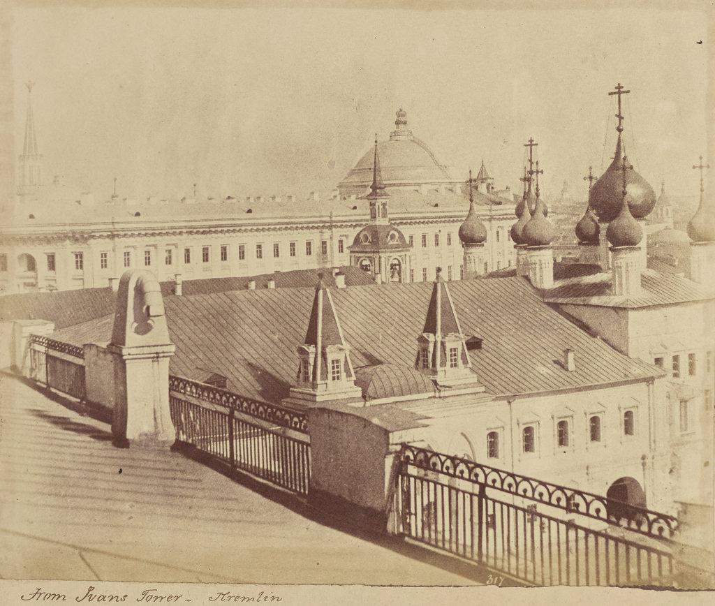 Москва. Вид на Кремль с колокольни Ивана Великого
