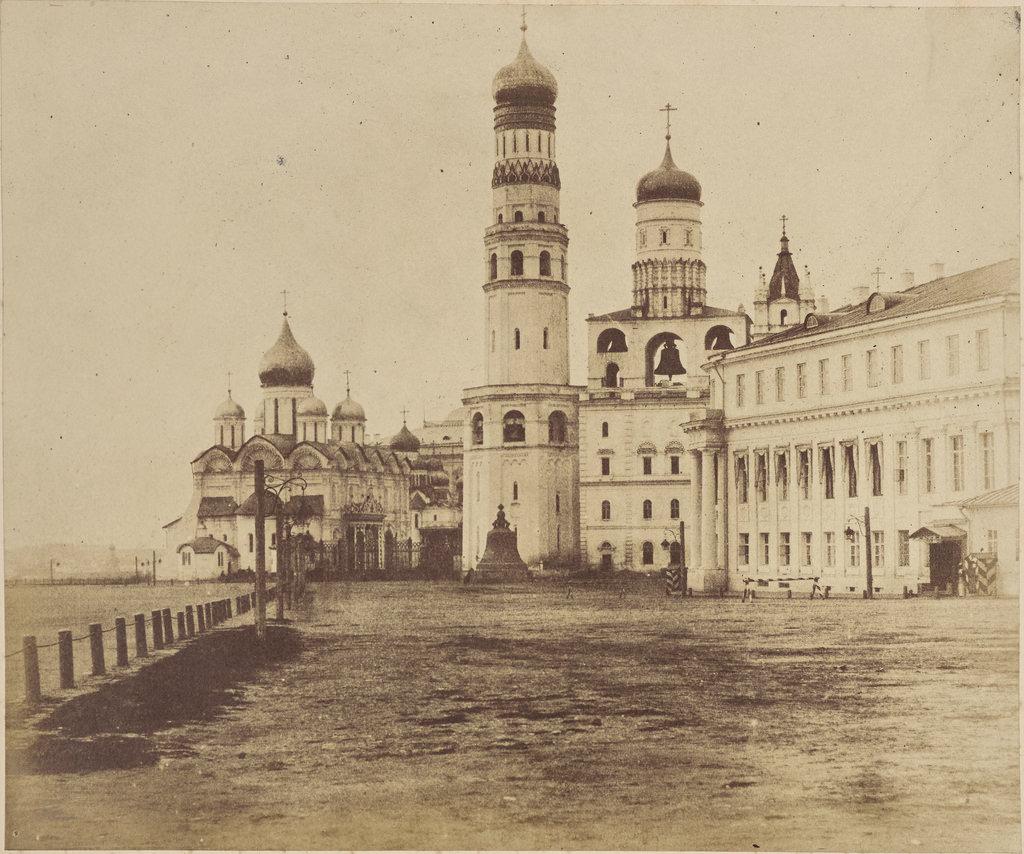 Москва. Ивановская площадь Кремля